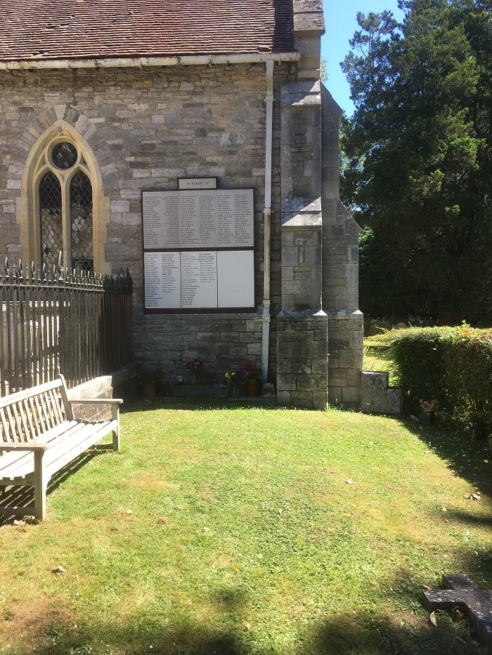 The Garden of Remembrance at St Mary's, South Stoneham